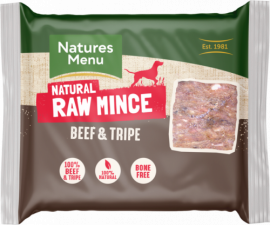 Just Beef and Tripe Raw Mince