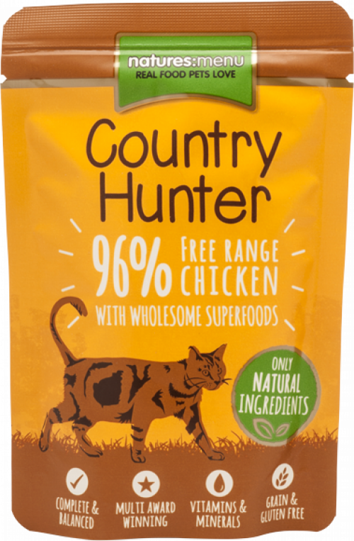 Country Hunter Free Range Chicken Cat Food Package