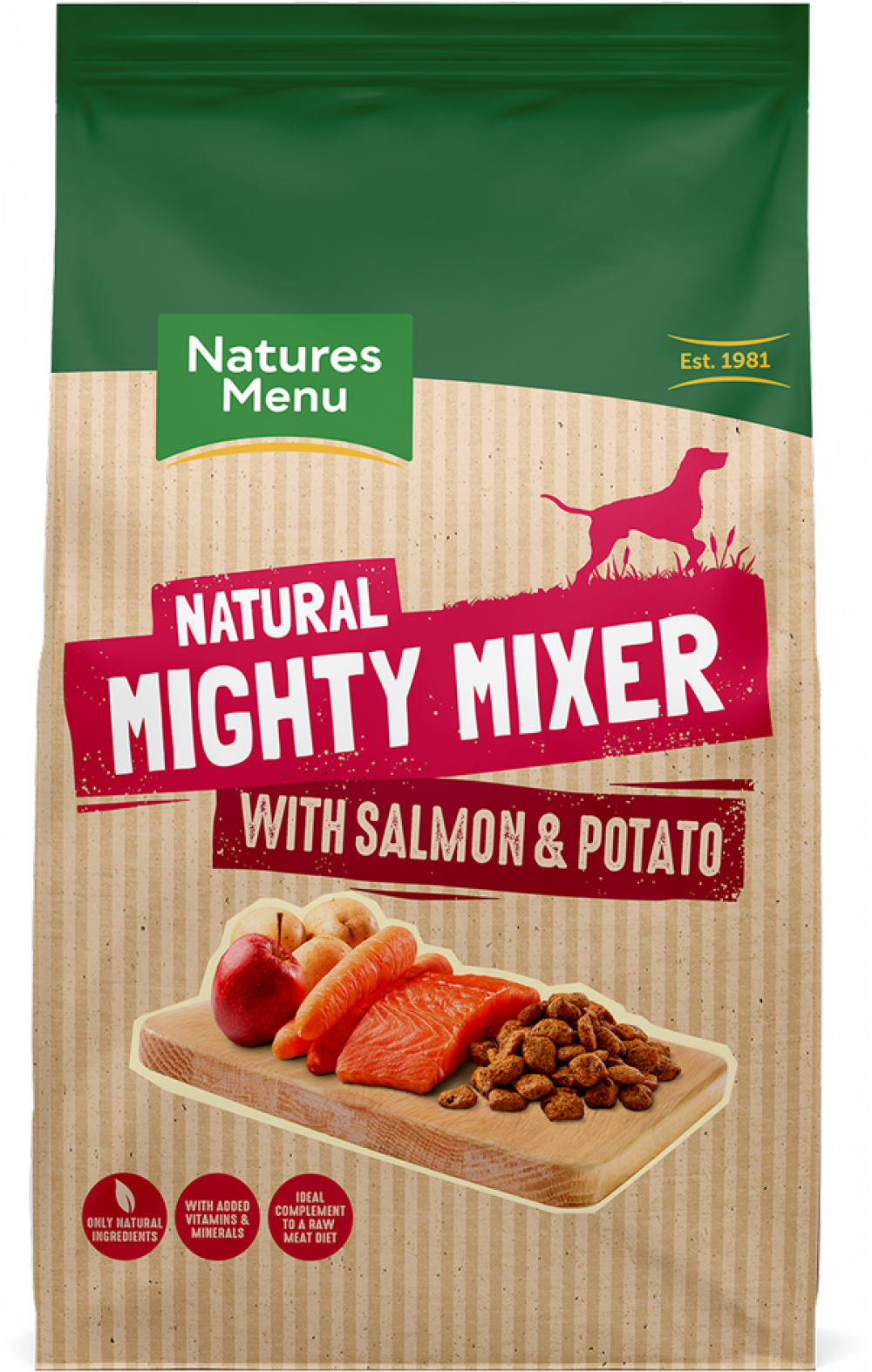 Mighty Mixer With Salmon Potatoes