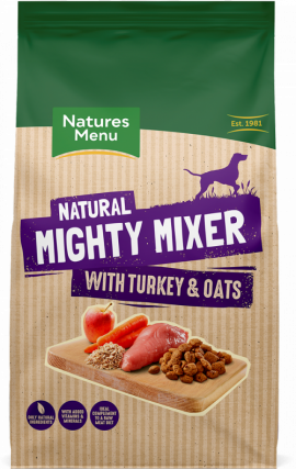 Mighty Mixer With Turkey & Oats