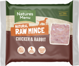 Just Chicken and Rabbit Raw Mince