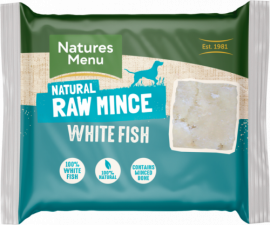 Just White Fish Raw mince